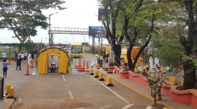 Las fronteras seguirán cerradas e instan a no llegar a Ciudad del Este