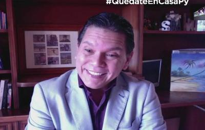 Mirá quién interrumpió a Churri Vázquez en vivo en Tv Al Aire