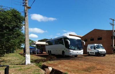 42 repatriados fueron trasladados a otro local