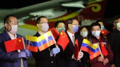 Misión médica china llega a Venezuela para luchar contra Covid-19
