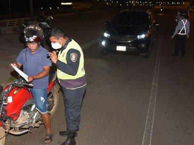 Intensifican  control policial y militar en zonas comerciales por fin de mes