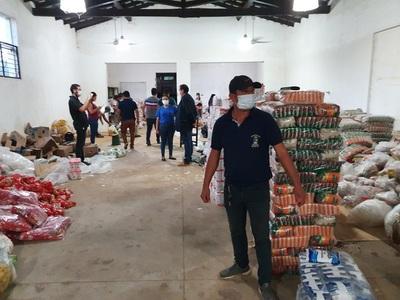 Gobernación y Municipalidad anuncian entrega de víveres