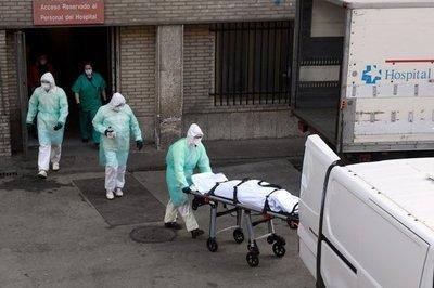 España suma 849 muertos por coronavirus en las últimas 24 horas y los contagios rozan ya los 95.000