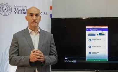 Lanzan App exclusiva para pacientes en cuarentena y personal de blanco