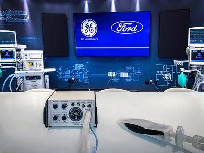 Ford producirá 50.000 respiradores en próximos 100 días para frenar COVID-19