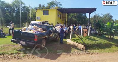 Aduana inició con la entrega de los 700 kits de alimentos en Encarnación