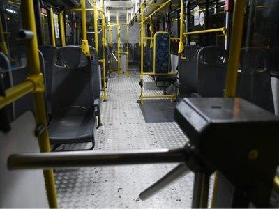 Semana Santa sin transporte público, anuncia Dinatrán