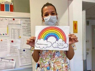 Paraguaya en España lucha contra el coronavirus en un hospital de niños