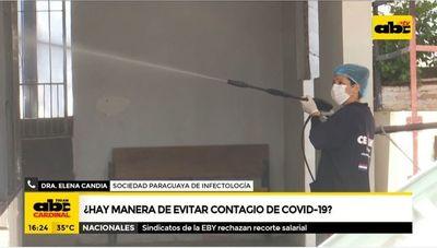 ¿Hay manera de evitar contagio del covid-19?