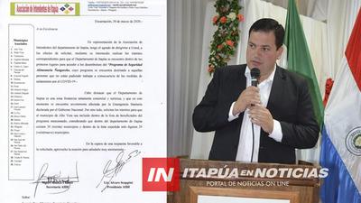 AIDI SOLICITA QUE ITAPÚA ESTE ENTRE LOS PRIMEROS BENEFICIARIOS DE ÑANGAREKO Y QUE INCLUYAN A ALTO VERÁ.