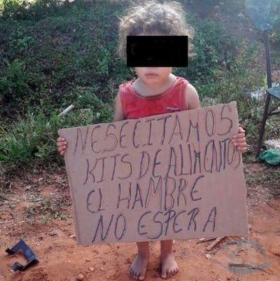 Miserables: Niños pasan hambre por pésima distribución de víveres