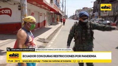 Coronavirus hizo colapsar Guayaquil y mucha gente murió en su casa, afirma embajador paraguayo