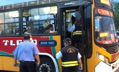 HOY / Queda suspendida el servicio de transporte público de empresas que trasladan personas de Asunción al interior del país y viceversa durante la Semana Santa