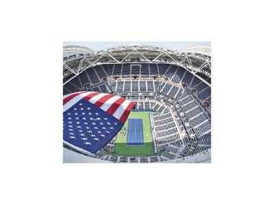 Canchas del US Open serán hospitales