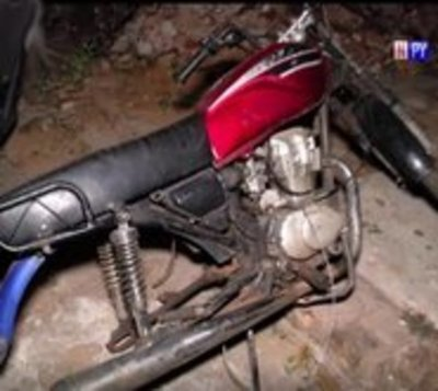 Roban motocicleta a trabajadora  y la recuperan gracias al GPS