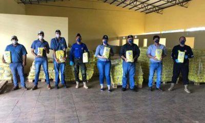 » Cooperativas de Producción brindan apoyo con donaciones solidarias.