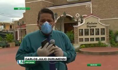 Cronista rompe en llanto ante la crítica situación en Ecuador
