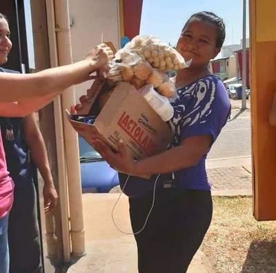 Unos ocho mil kits de víveres distribuirán en Ñeembucú