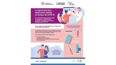 Salud Pública insta a prevenir el embarazo durante la pandemia de Coronavirus