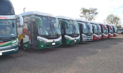 No habrá buses al interior del país en Semana Santa