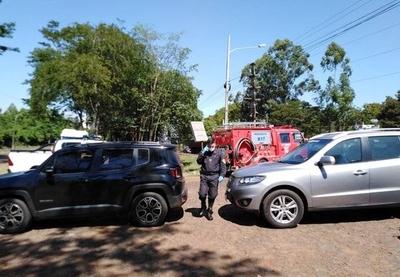 HOY / Ángeles Arriola, directora de Migraciones, sobre situación de 4 ciudadanos brasileños que cruzaron hoy la frontera