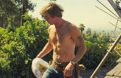 Brad Pitt le dijo a Tarantino cómo dirigir la escena sin camiseta en 'Once upon a time in Hollywood'