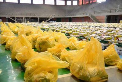 Entregan leche, galletitas y chipitas a 114 mil niños en Alto Paraná