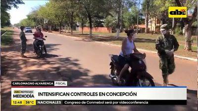 Intensifican controles en Concepción