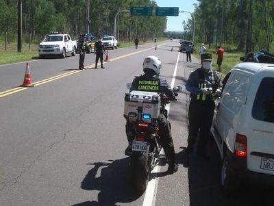 Caminera: Disponen acuartelamiento de los inspectores en todo el país