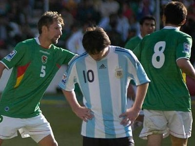 Bolivia recuerda con énfasis el 6-1 a la Argentina de Maradona y Messi