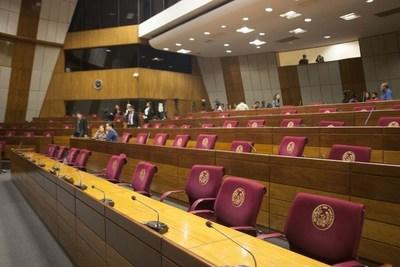 Añetete y Frente Guasu dejan sin quórum sesión del Senado y no se trató eliminación de privilegios