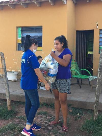 Preparan 450 kits de alimentos kits de alimentos para semana santa
