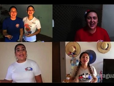 Artistas cantan  Néike lo mitã para animar la cuarentena