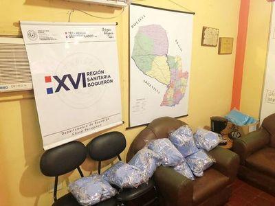 Donan 1.000 tapabocas para hospitales de Boquerón