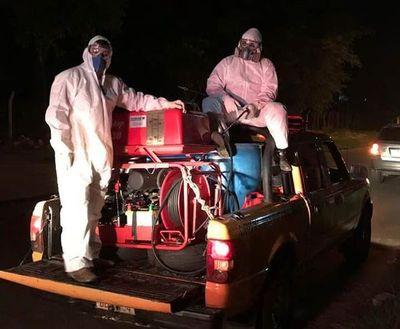 Desinfección en Lambaré se detuvo por falta de permiso