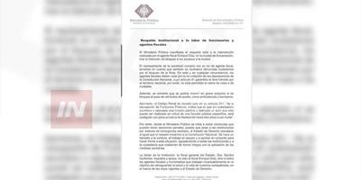 RESPALDAN INTERVENCIÓN DEL FISCAL ENRIQUE DIAZ EN IMPEDIR EL CIERRE DE RUTA 1.