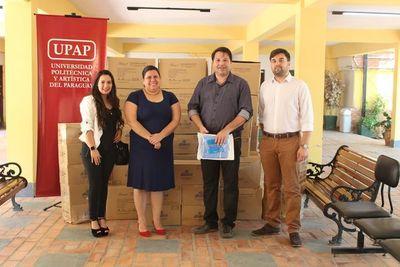 UPAP donó equipos de bioseguridad a la DNERHS