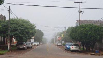 Jornada lluviosa en el sur