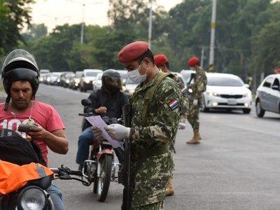 Policía registra más de 1.000 aprehensiones durante cuarentena