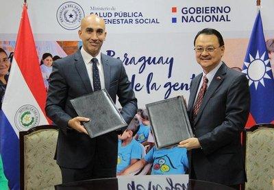 Paraguay y Taiwán firman acta de recepción de equipos sanitarios por valor de US$ 3.200.000