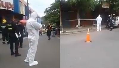 Hombre muere en plena calle y causa gran susto en Caacupé