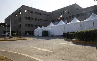 México: 26 infectados con COVID-19 en hospital