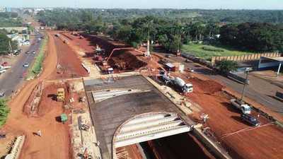 Multiviaducto: Intensifican cargamento de hormigón en puentes