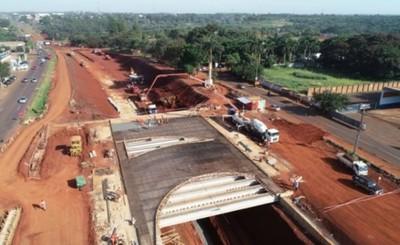 Intensifican cargamento de hormigón en puentes del Multiviaducto