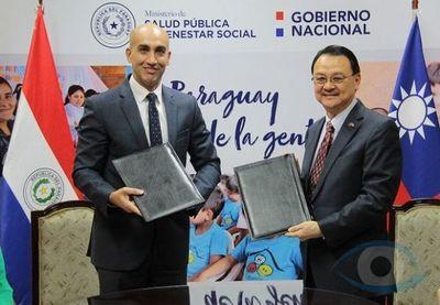 Taiwán donó US$ 3.2 millones a Paraguay para fortalecer su servicio de salud ante Covid-19