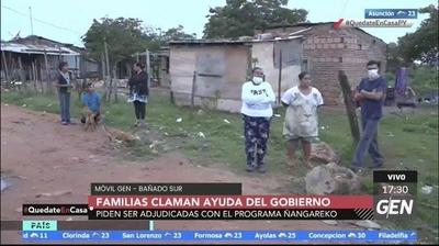 HOY / Familias del Bañado Sur a la espera de la adjudicación del subsidio del programa Ñangareko
