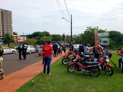 Alto Paraná: Más de 44 demorados en un día