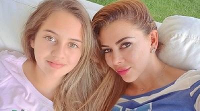 Marly Figueredo celebró con emoción los 13 años de su hija