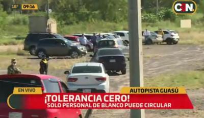 Torelancia cero: arman corralón improvisado y retienen autos en Ñu Guasú