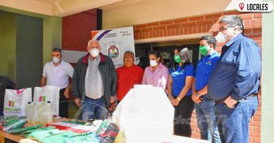 Empresas hacen donaciones al Consejo Regional de Salud de Itapúa para combatir al COVID-19